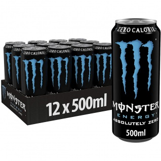 Monster Energy Drink Absolutely Zero koffeinhaltig 500ml 12er Pack