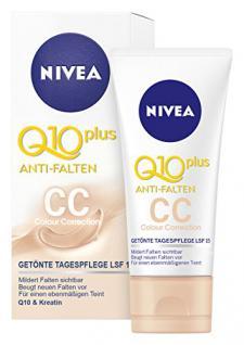 Nivea Q10 Plus Anti-Falten Colour Correction, Feuchtigkeitspflege, 1er Pack (1 x 50 ml)