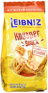 Bahlsen Leibniz Knusper Snack kar. Erdnüsse (5x 175g)