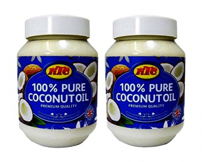 Kokosöl 100% Pur Kokosöl zum Braten KTC Pure Coconut Oil 500ml 2erPack