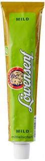 Löwensenf Mittelscharfer Senf cremig mild in der Tube 200ml 6er Pack