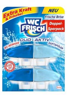 WC Frisch Duo Aktiv Duftspüler Frische Brise Extra Kraft 2 Stück 100ml