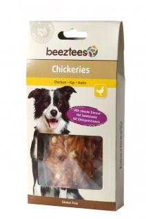 Tiernahrung Beeztees Chickeries mit Käsegeschmack für Hunde 85g