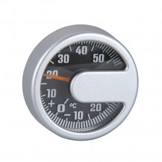 Kfz Thermometer ALU Silver