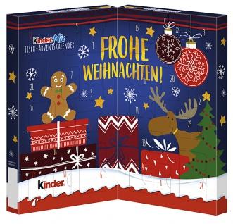 Ferrero Kinder Mix Tisch Adventskalender mit Vollmilchschokolade 127g