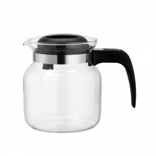Glaskanne Teekanne Borosilikatglas hitzebeständig Matura 1.0l
