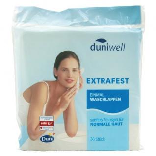 Duniwell Sanft Reinigende Einmalwaschlappen, 6lagig, 5er Pack
