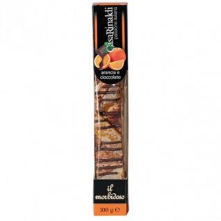 Casa Rinaldi Soft Nougat Riegel mit Orange und Schokolade 100g