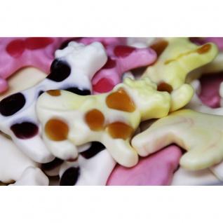 Trolli Milch Kuh Schaumzucker und Fruchtgummi in Kuh Form 125g