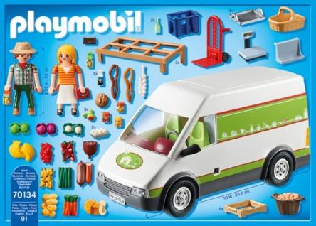 Playmobil Country Hofladen-Fahrzeug Konstruktionsspiel 70134