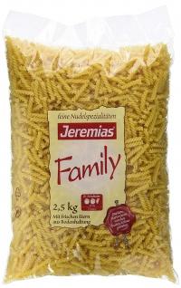 Jeremias Classic Family Frischei Nudeln Jerelli aus Hartweizen 2500g