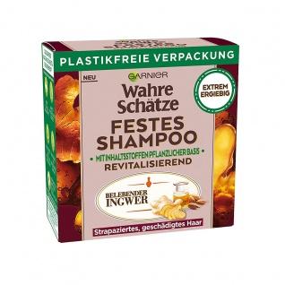 Garnier Wahre Schätze Ingwer festes Shampoo vegan Revitalisierend 60g