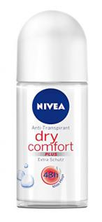 Nivea Deo Dry Comfort Plus Deoroller, Antitranspirant, 6er Pack (6 x 50 ml)