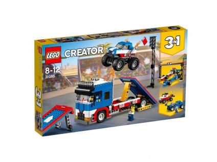 Lego Creator 31085 Stunt-Truck-Transporter Biete eine spannende Show
