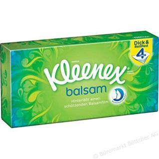 Kleenex - Balsam Taschentücher-Box