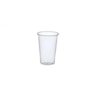 Einweg Trinkbecher aus Polypropylen 200 ml transparent 100 Stück