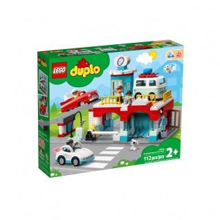 LEGO DUPLO Parkhaus mit Autowaschanlage Spielzeug für Kinder