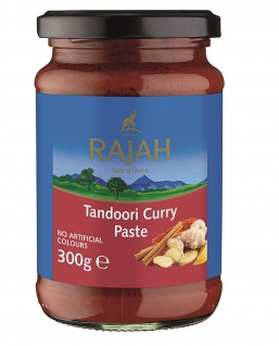Rajah Currypaste Tandoori 300g