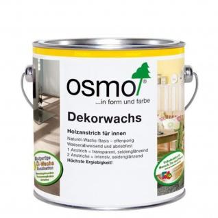 Osmo Dekorwachs Eiche antik, transparent Holzanstrich für Innenbereich 375ml