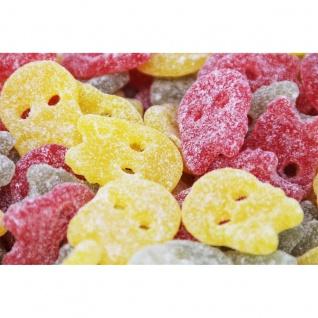 Saure Totenköpfe Bubs Sour Fruit Skulls Mix saures Fruchtgummi 1000g