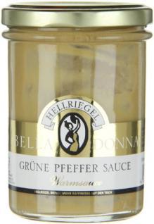 Hellriegel Bella Donna Grüne Pfeffer Sauce, 12er Pack (12 x 180 g)