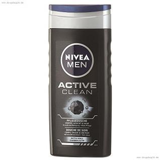NIVEA Body Cleansing MEN Pflegedusche Active Clean 250ml - Vorschau