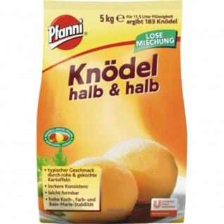 Pfanni Knödel halb und halb typischer Geschmack leicht formbar 5000g