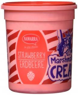 Nawarra Marshmallow Cream Strawberry mit Erdbeeregeschmack 180g