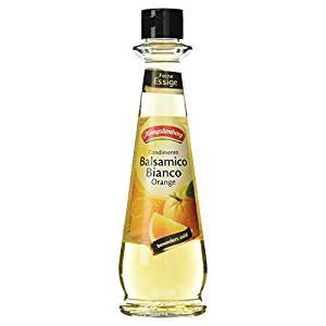 Hengstenberg Condimento Balsamico Öl Bianco mit Orange, 250 ml