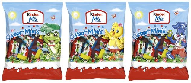 Kinder Mix Oster Minis mit Kinder Country Bueno Schokolade Mini 156g