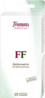Fromm's FF Kondome transparent mit Spezialgleitfilm 10er Packung. 10 Kondome