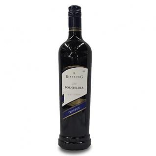 Rietburg Dornfelder Rotwein trocken QbA Kirsch und Brombeerfrucht 750ml