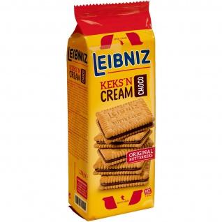 Leibniz Keks'n Cream Choco Doppelkekse mit Schokoladen-Creme-Füllung 228g