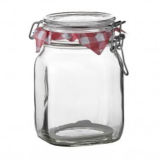 Bormioli Rocco Fido Aufbewahrungsbehälter Glas Bügelverschluss 1115 ml