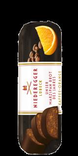Niederegger Marzipan Brot Kaffee knackiger Zartbitter Schokolade 125g