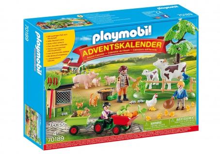 playmobil Adventskalender Auf dem Bauernhof für Kinder ab 4 Jahren