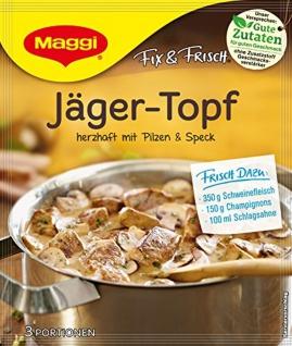 Maggi Fix fuer Jaegertopf Hubertus