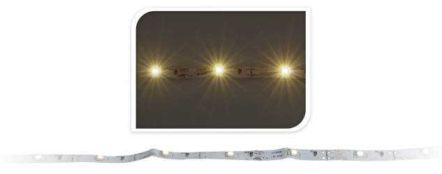 LED Leiste 1 Meter 30 LED warm weiss