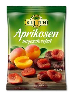 Kluth Trockenfrüchte ganze Aprikosen ungeschwefelt und entsteint 500g