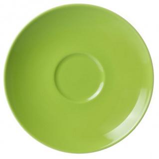 Ritzenhoff und Breker Doppio grün Kaffee Untertasse aus Porzellan - Vorschau