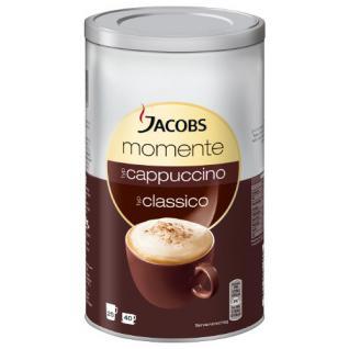 Jacobs Krönung Momente Cappuccino Dose, Feine Cremigkeit, Instant Kaffee, mild, 400g, 606484