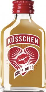 Küsschen Sahnelikör Kurzer mit echtem Jamaica Rum Inhalt 20ml