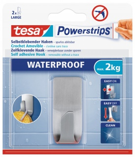 Powerstrips Waterproof Haken Metall