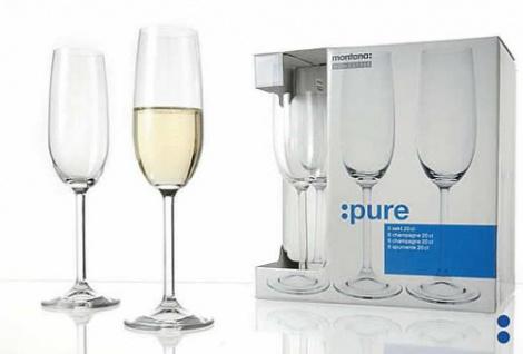 Sektglas Champagnerglas Sektflöte von Gkbd Brands Serie PURE 200 ml