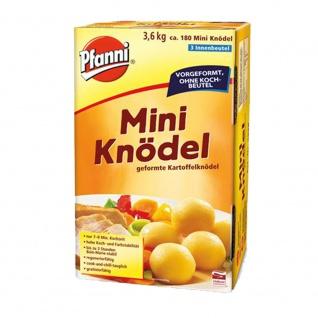 Pfanni Mini Knödel vorgeformte Kartoffelknödel ohne Koch Beutel 3600g