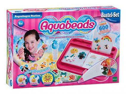 Aquabeads 79318 - Regenbogen Station, Bastelset für Kinder