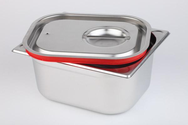 Asshauer und Pott Behälter aus Edelstahl 176x108x100mm 1000ml