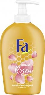 Fa Flüssigseife Honey Rose Duft Cremeseife sanft pflegend 250ml