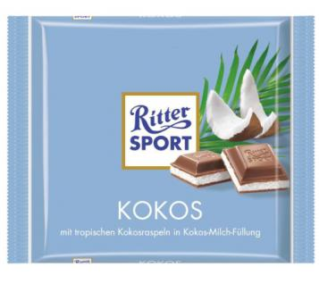 Ritter Sport Kokos Menge:100g