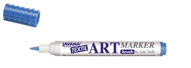 Javana Art Marker fuer Stoff lichtblau